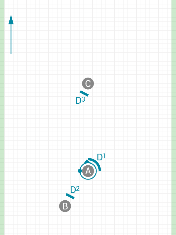 Image of 45 degree dump to Power Position
